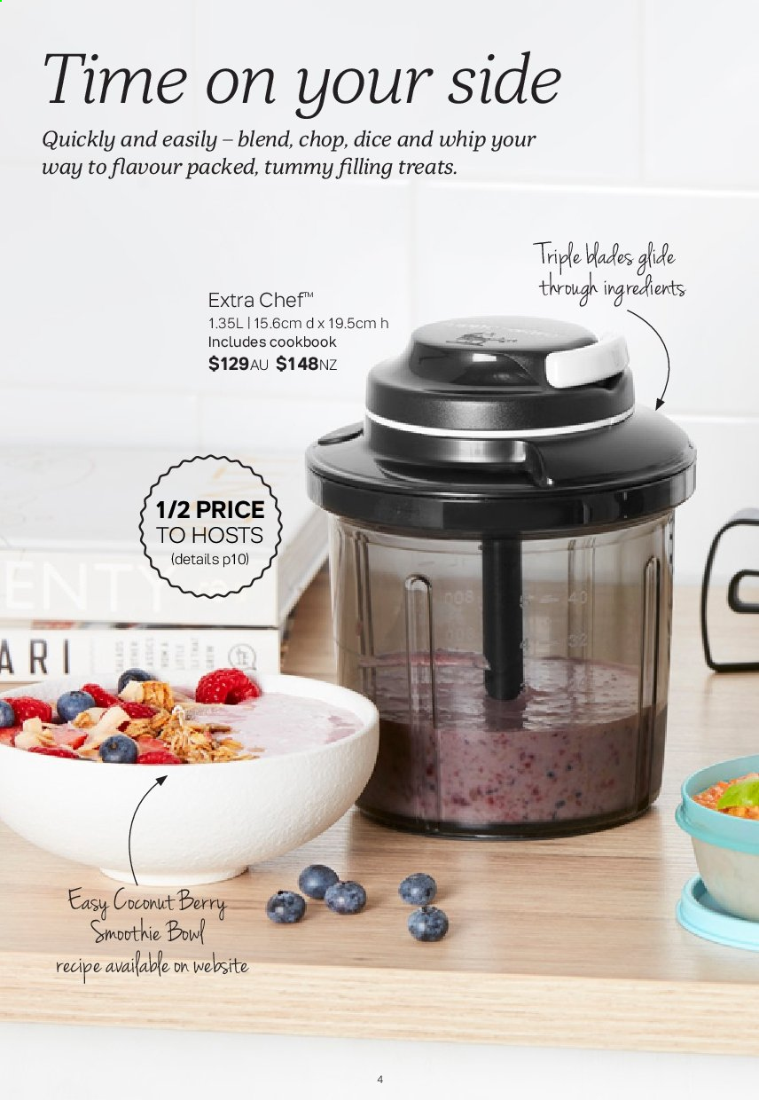 Tupperware catalogue  - 2.9.2019 - 29.9.2019. Page 4.