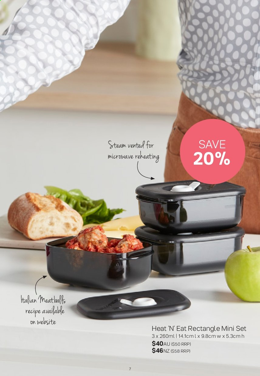 Tupperware catalogue  - 2.9.2019 - 29.9.2019. Page 7.