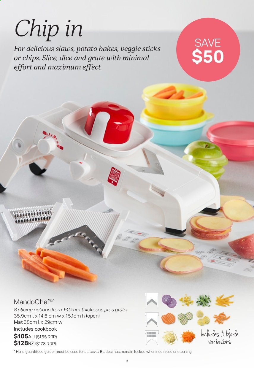 Tupperware catalogue  - 2.9.2019 - 29.9.2019. Page 8.
