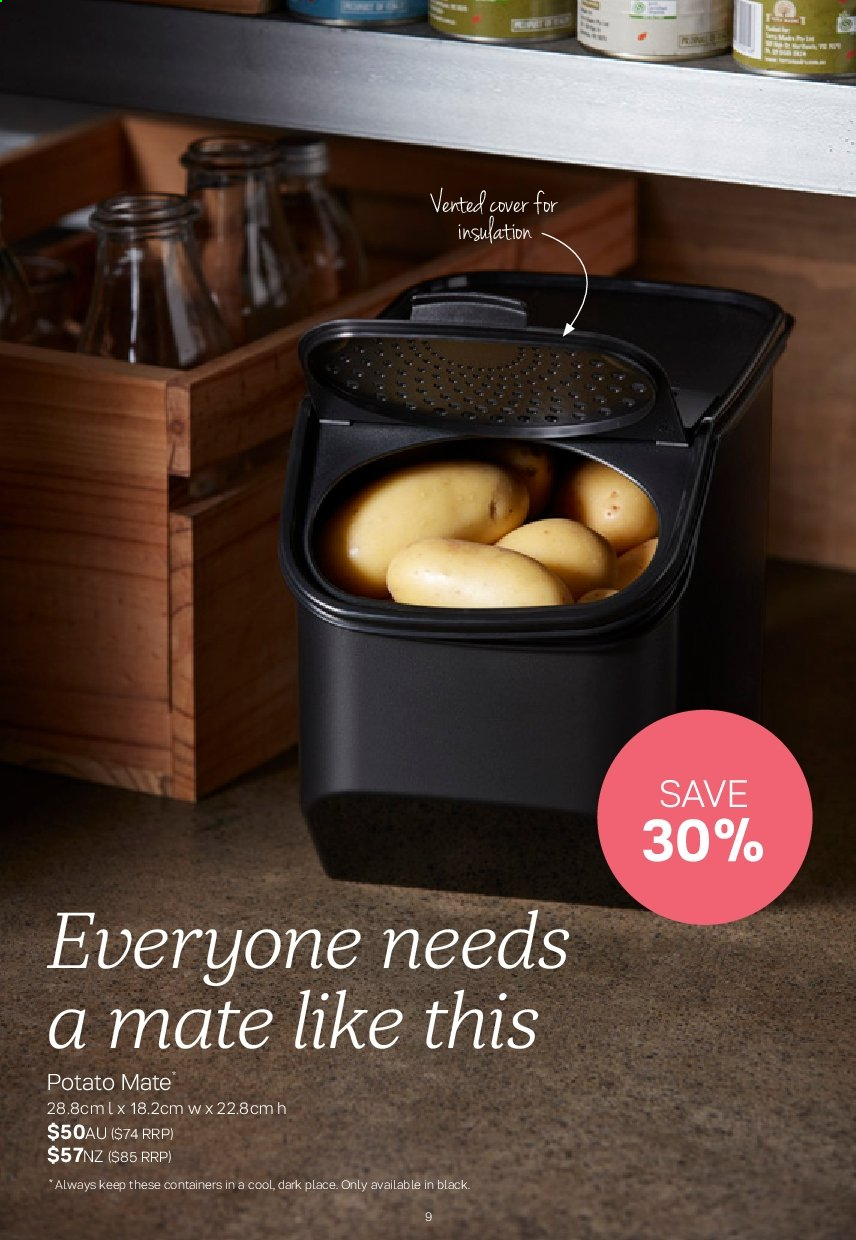 Tupperware catalogue  - 2.9.2019 - 29.9.2019. Page 9.
