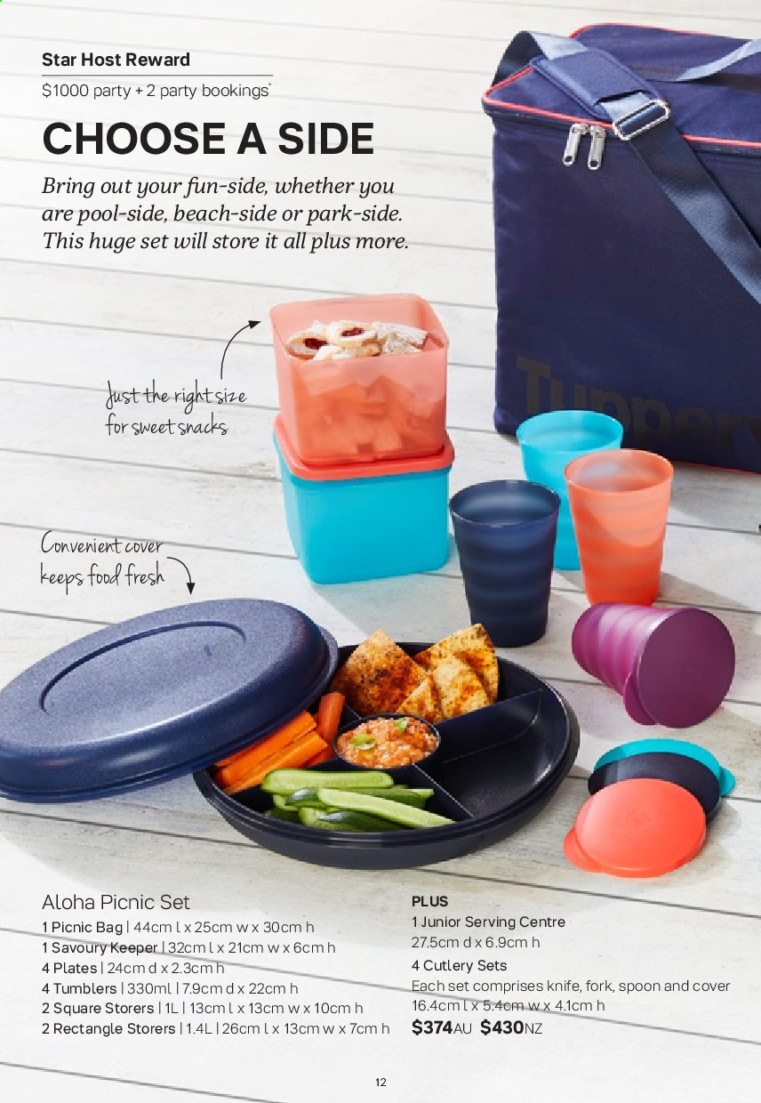 Tupperware catalogue  - 2.9.2019 - 29.9.2019. Page 12.