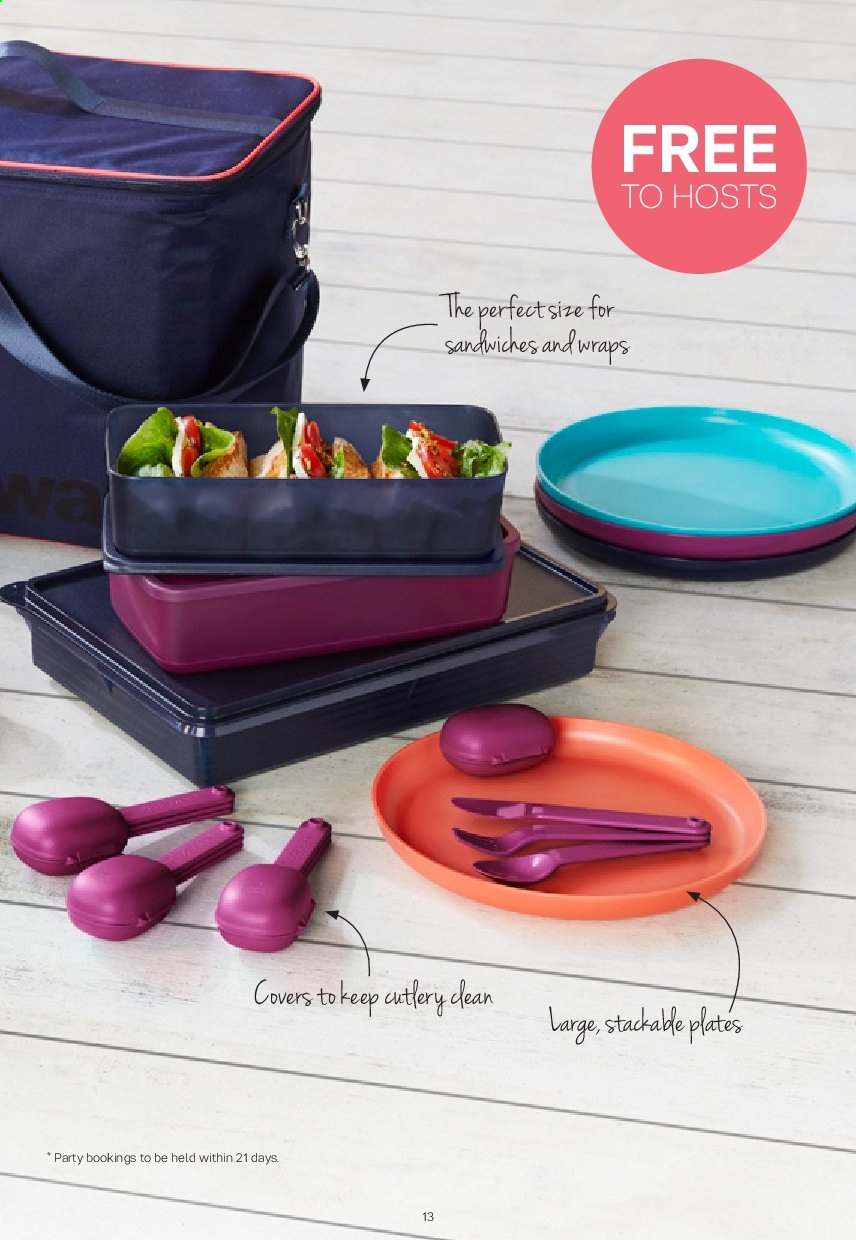 Tupperware catalogue  - 2.9.2019 - 29.9.2019. Page 13.