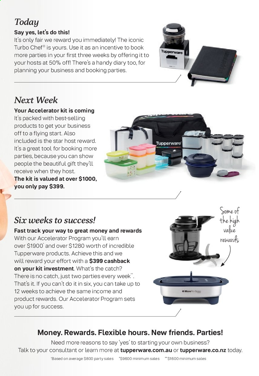 Tupperware catalogue  - 2.9.2019 - 29.9.2019. Page 15.