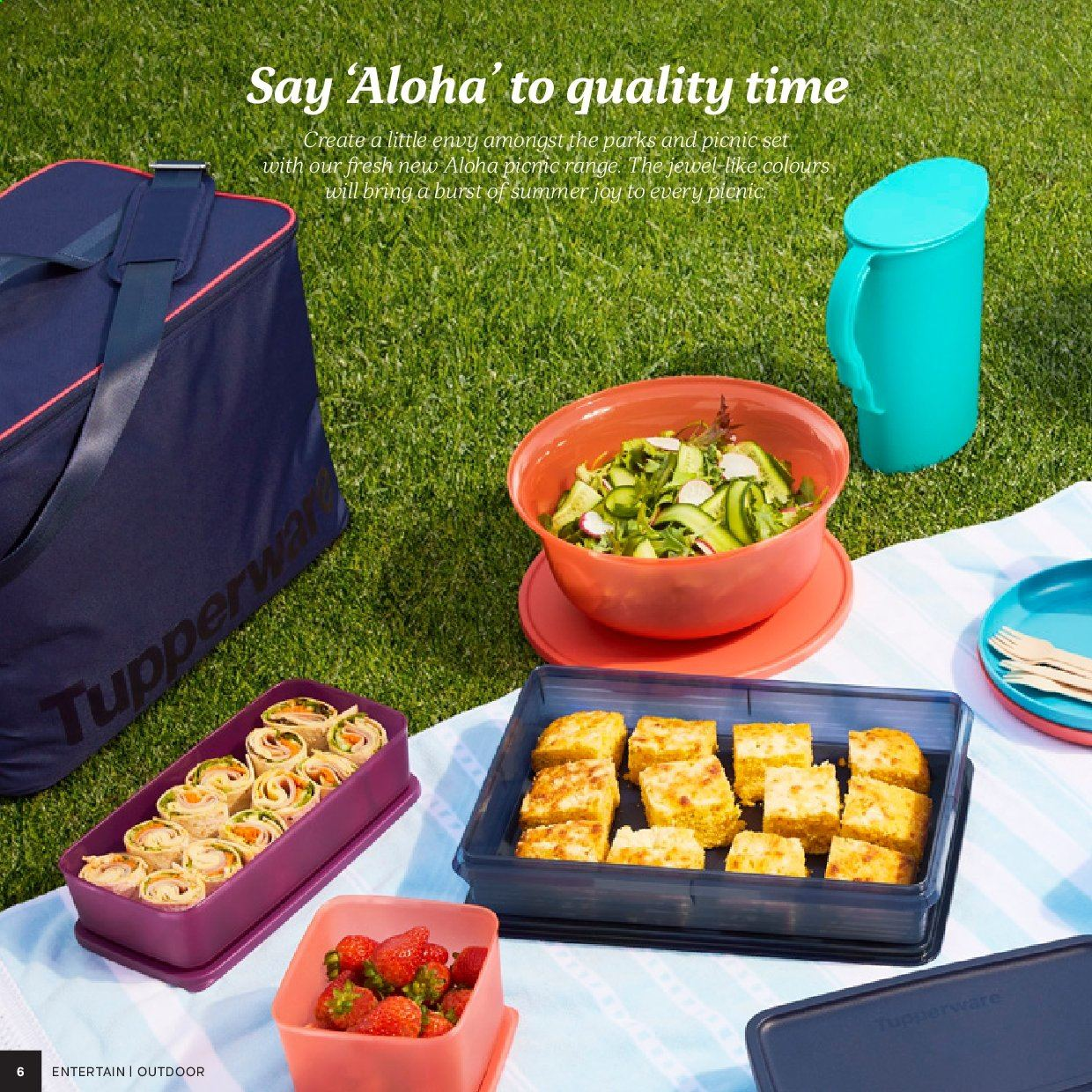 Tupperware catalogue . Page 6.