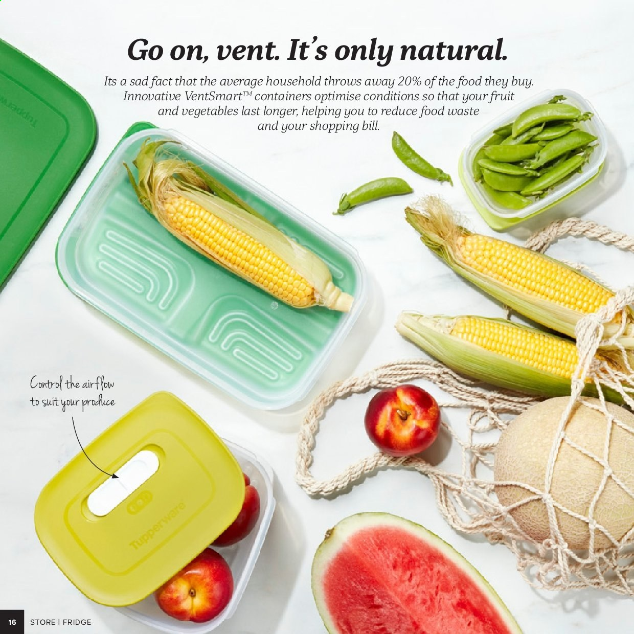 Tupperware catalogue . Page 16.
