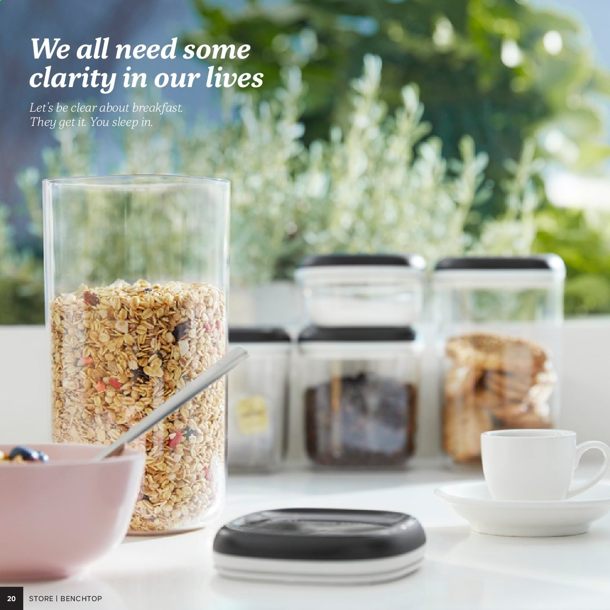 Tupperware catalogue . Page 20.