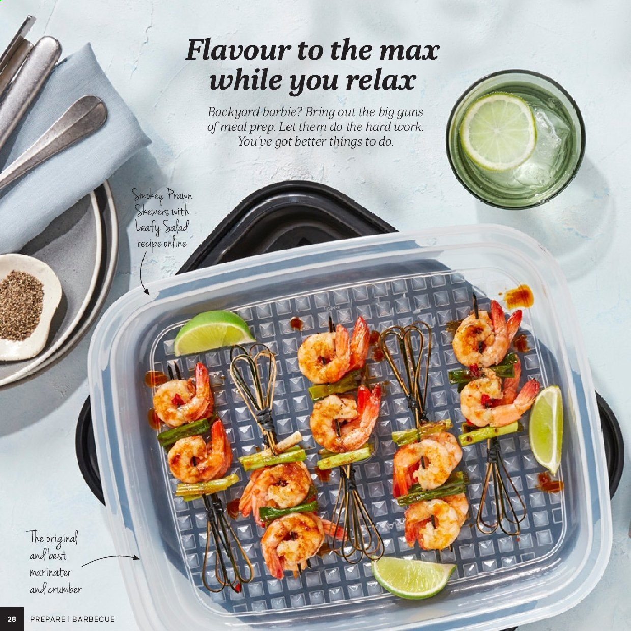 Tupperware catalogue . Page 28.
