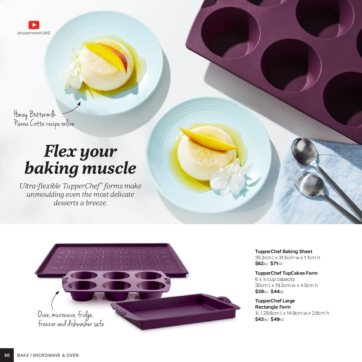 Tupperware catalogue . Page 50.