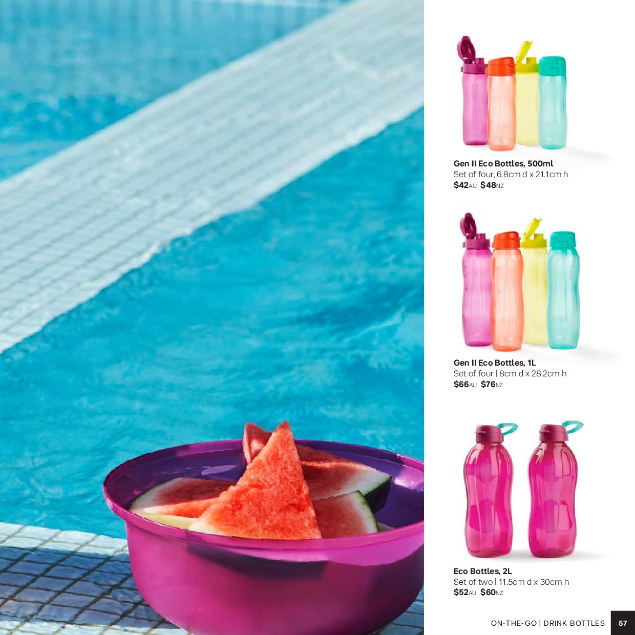 Tupperware catalogue . Page 57.