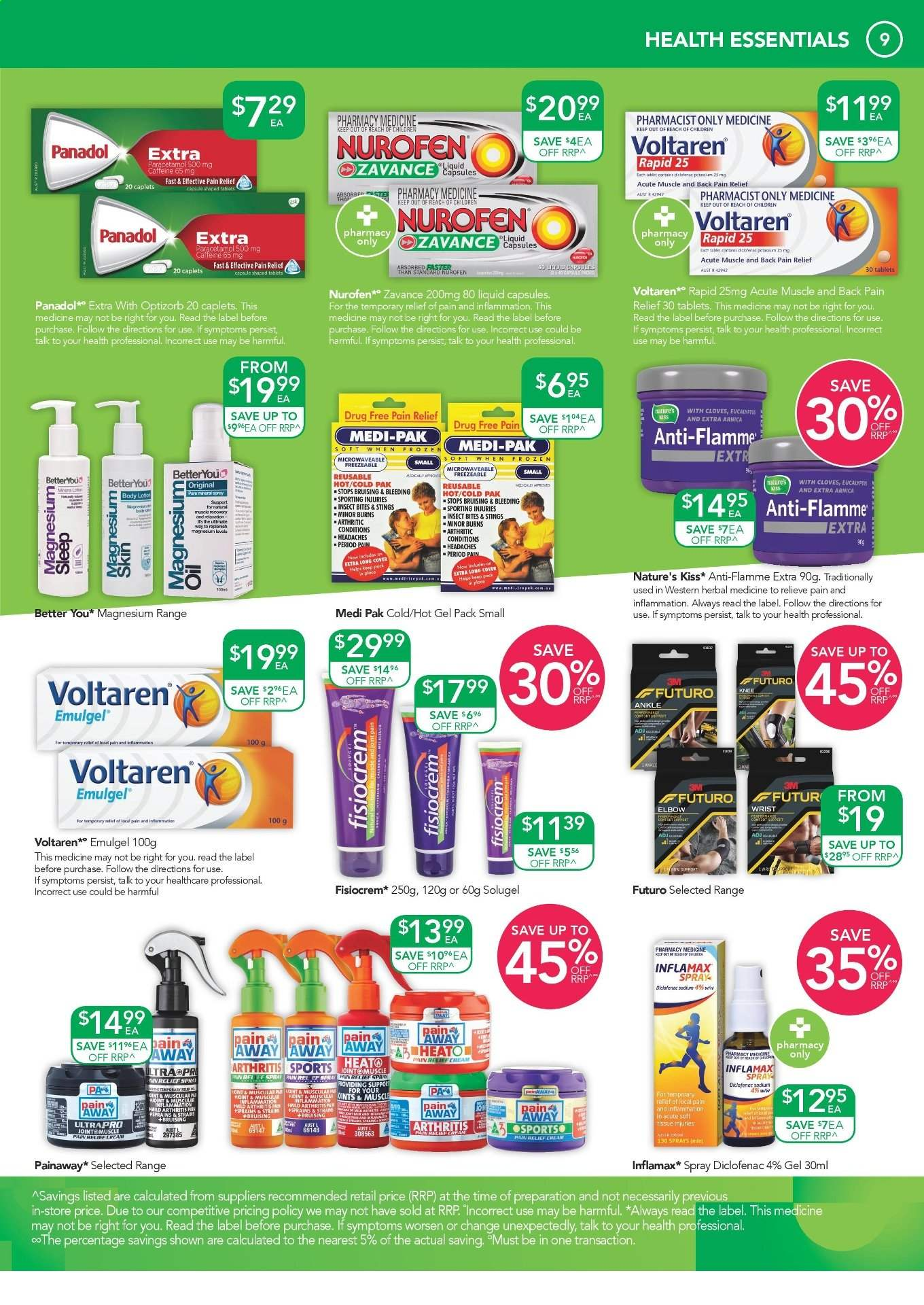 TerryWhite Chemmart catalogue  - 12.9.2019 - 1.10.2019. Page 9.