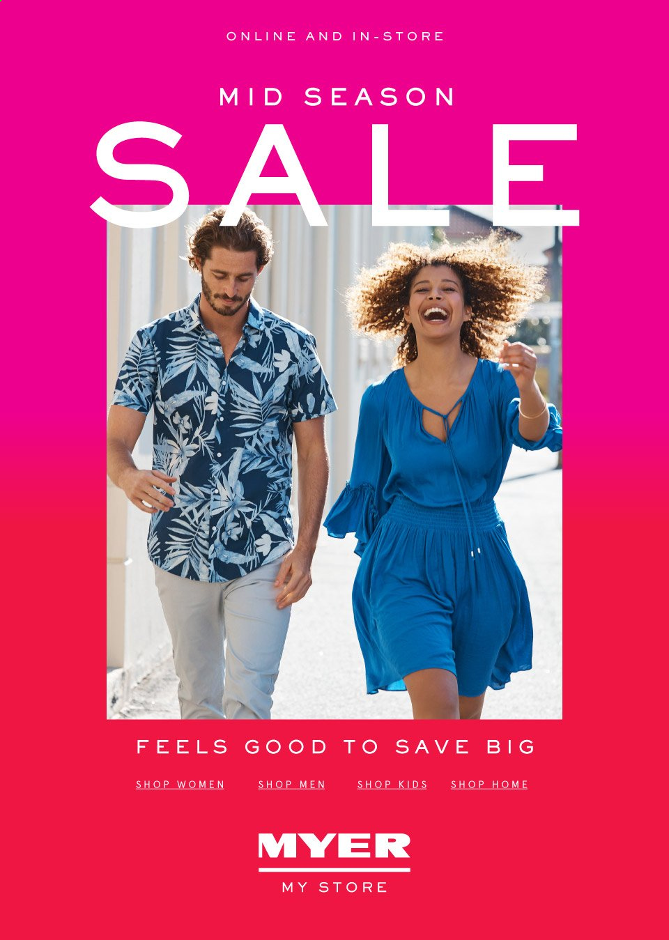 Myer catalogue  - 19.9.2019 - 13.10.2019. Page 1.