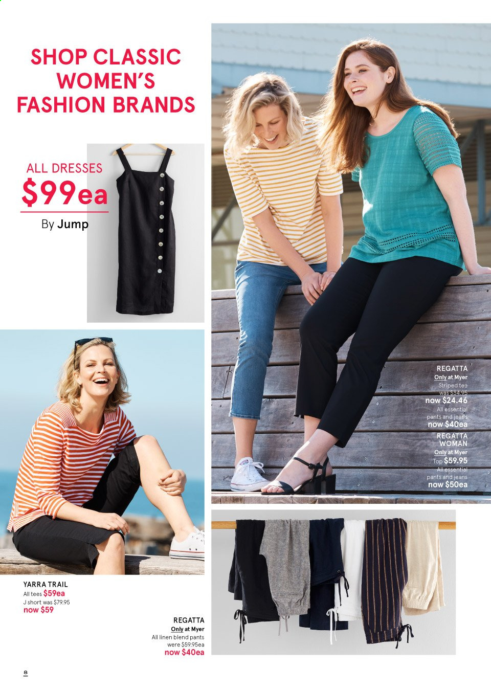 Myer catalogue  - 19.9.2019 - 13.10.2019. Page 8.