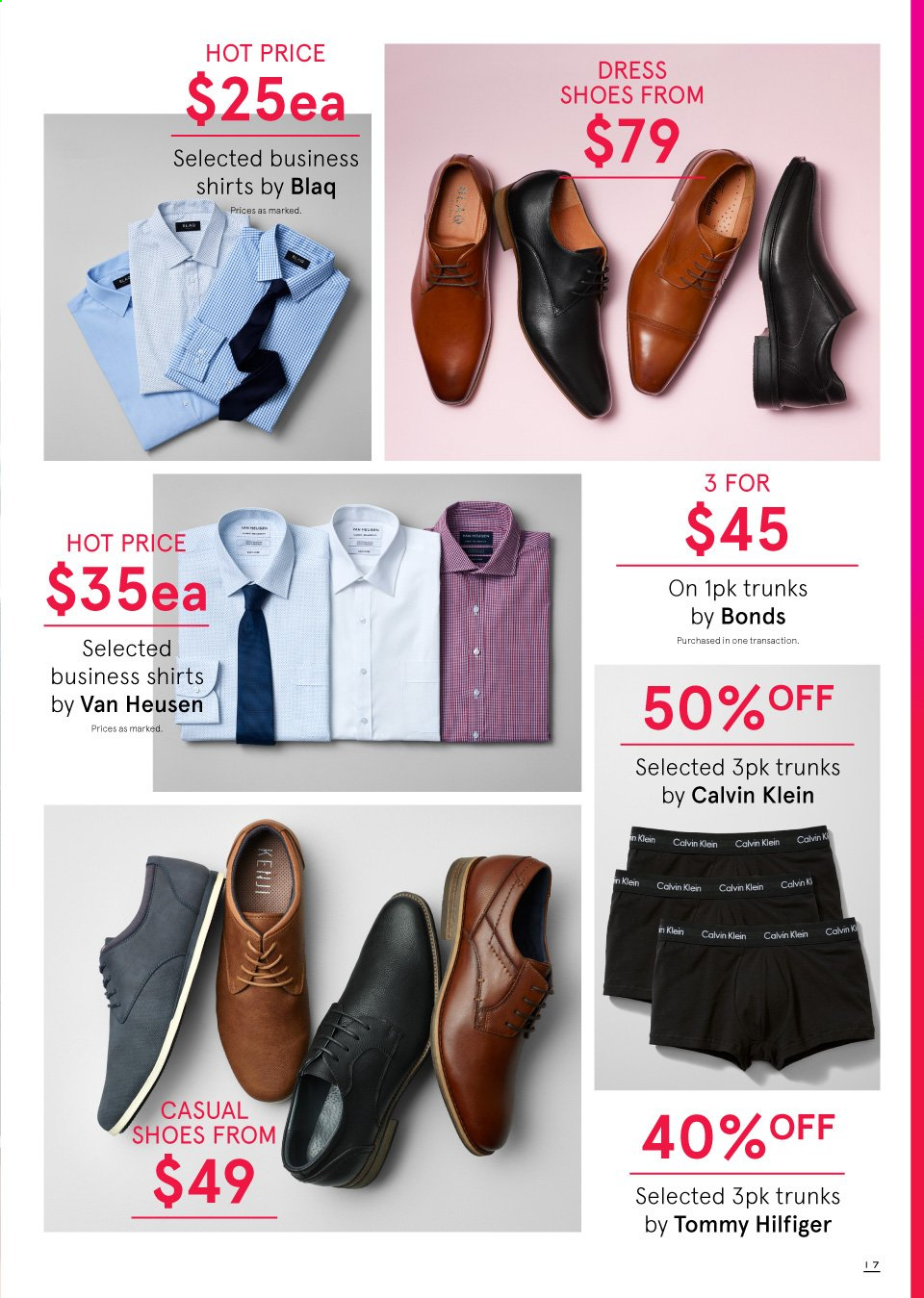 Myer catalogue  - 19.9.2019 - 13.10.2019. Page 17.