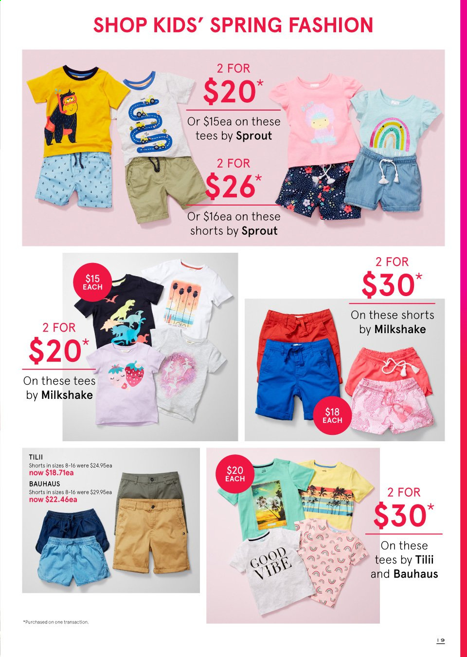 Myer catalogue  - 19.9.2019 - 13.10.2019. Page 19.