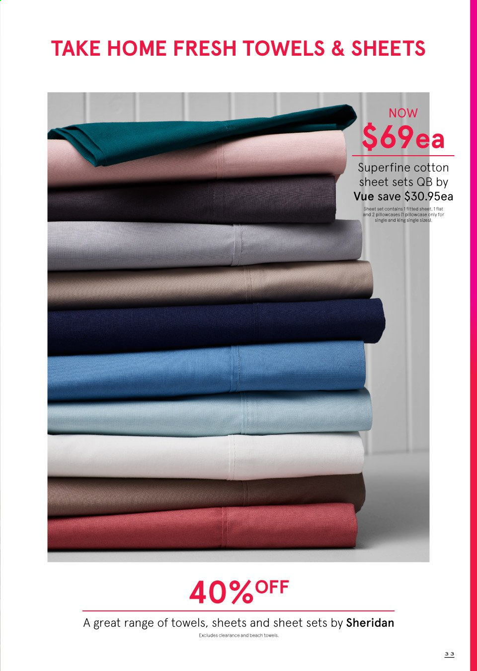 Myer catalogue  - 19.9.2019 - 13.10.2019. Page 33.