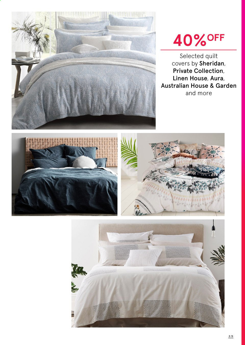 Myer catalogue  - 19.9.2019 - 13.10.2019. Page 35.