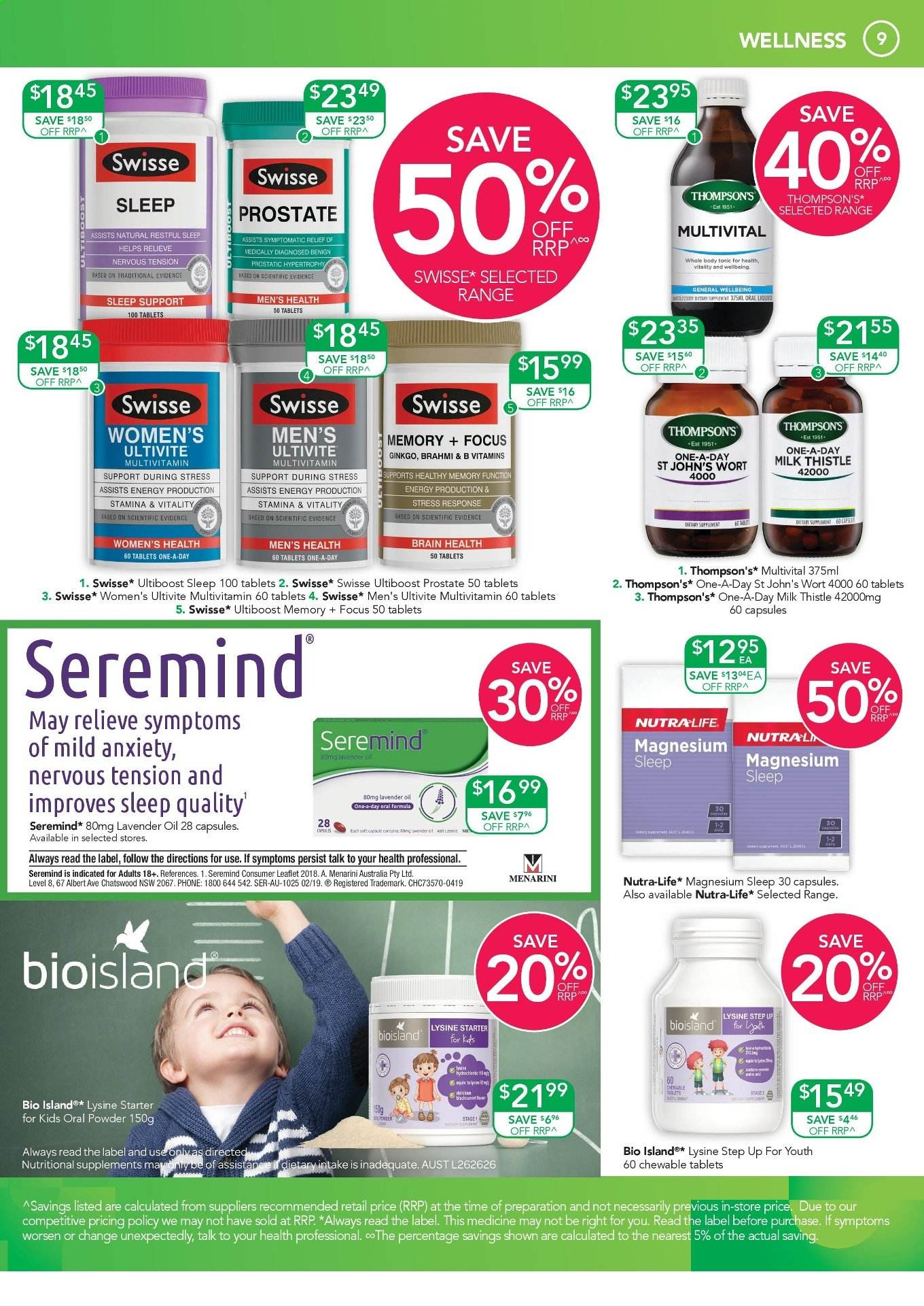 TerryWhite Chemmart catalogue  - 24.10.2019 - 12.11.2019. Page 10.