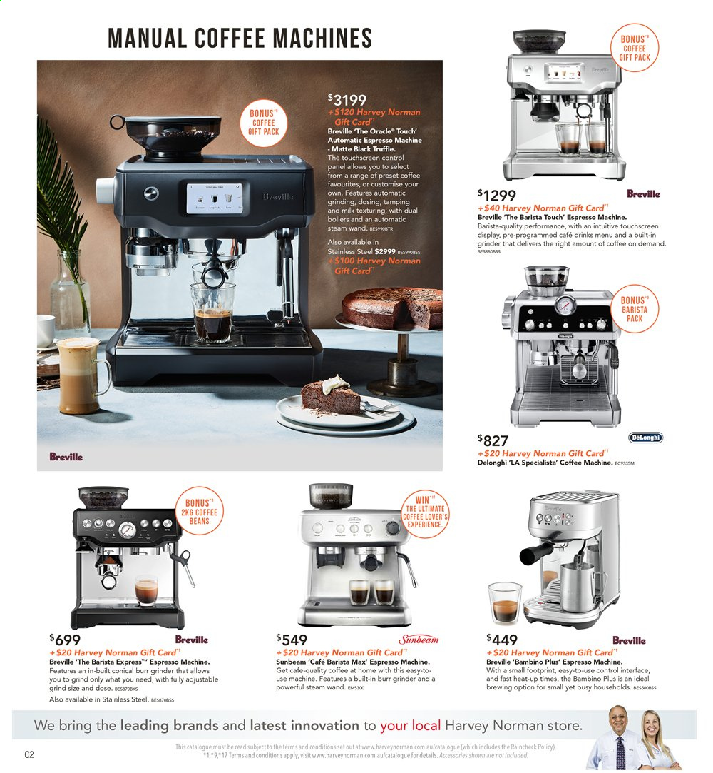 Harvey Norman catalogue  - 8.11.2019 - 25.11.2019. Page 2.