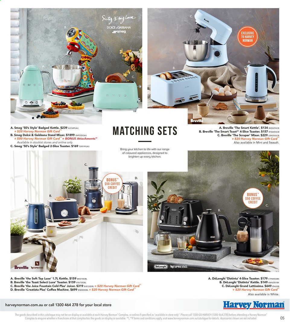 Harvey Norman catalogue  - 8.11.2019 - 25.11.2019. Page 5.