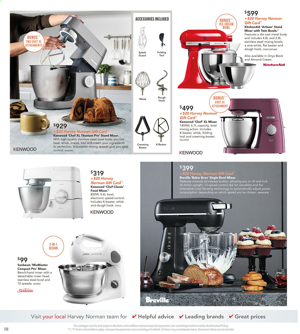 Harvey Norman catalogue  - 8.11.2019 - 25.11.2019. Page 8.