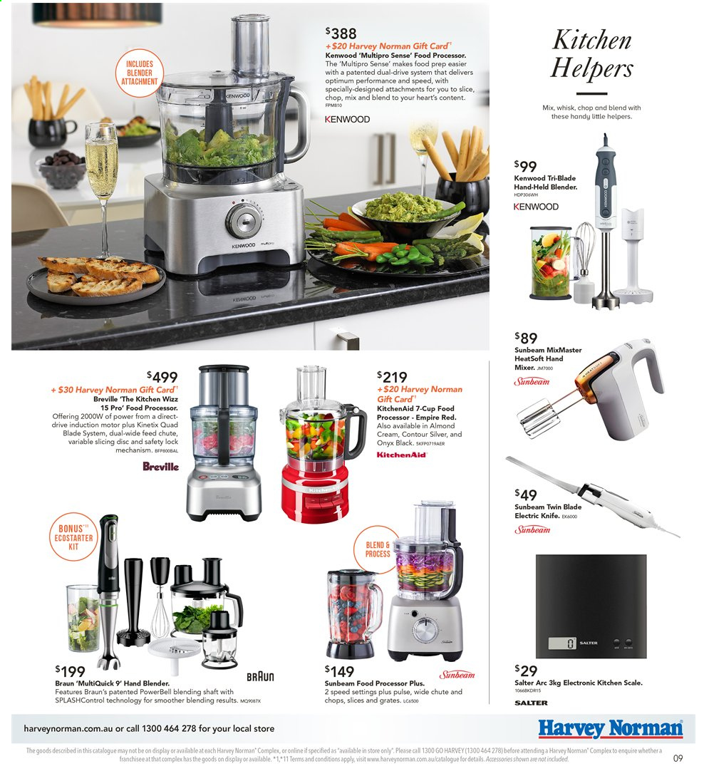Harvey Norman catalogue  - 8.11.2019 - 25.11.2019. Page 9.