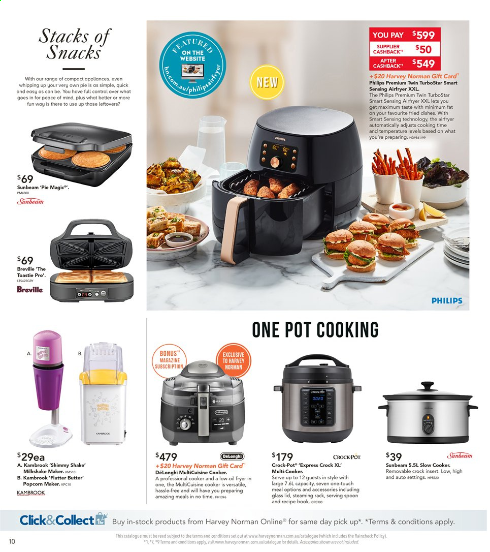 Harvey Norman catalogue  - 8.11.2019 - 25.11.2019. Page 10.