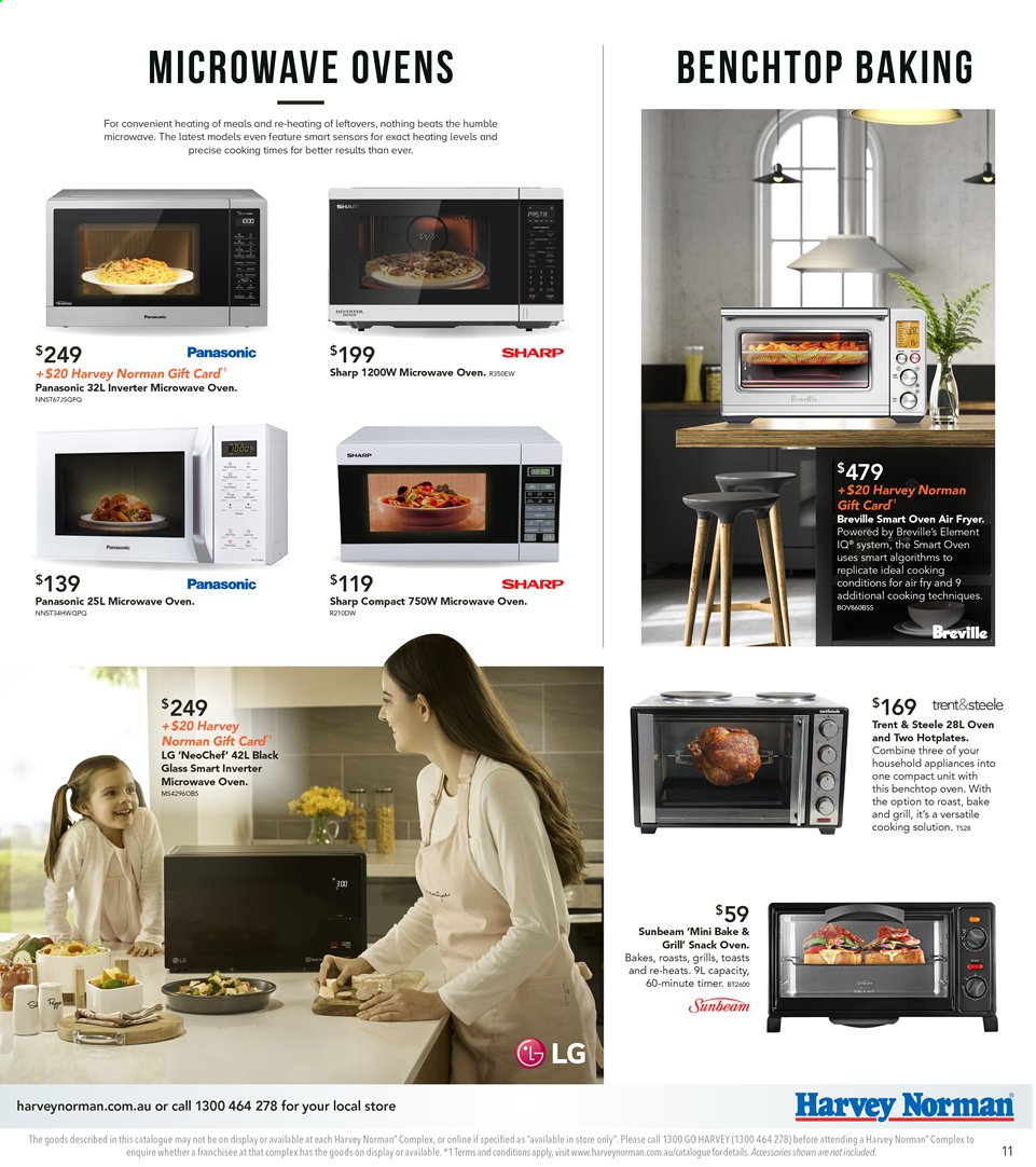 Harvey Norman catalogue  - 8.11.2019 - 25.11.2019. Page 11.