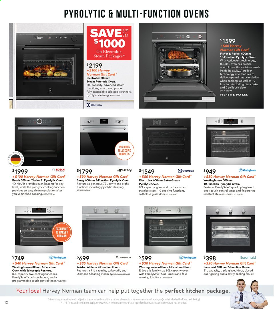Harvey Norman catalogue  - 8.11.2019 - 25.11.2019. Page 12.
