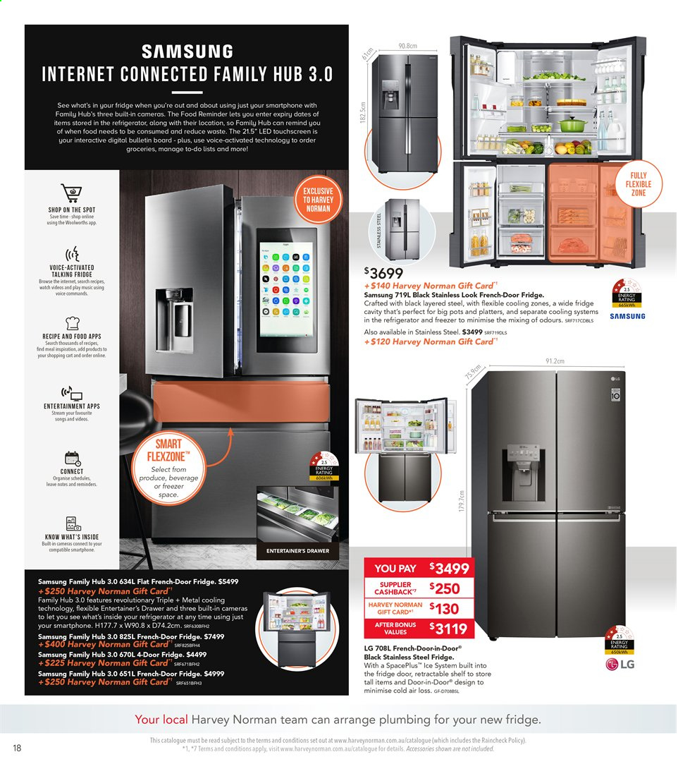 Harvey Norman catalogue  - 8.11.2019 - 25.11.2019. Page 18.
