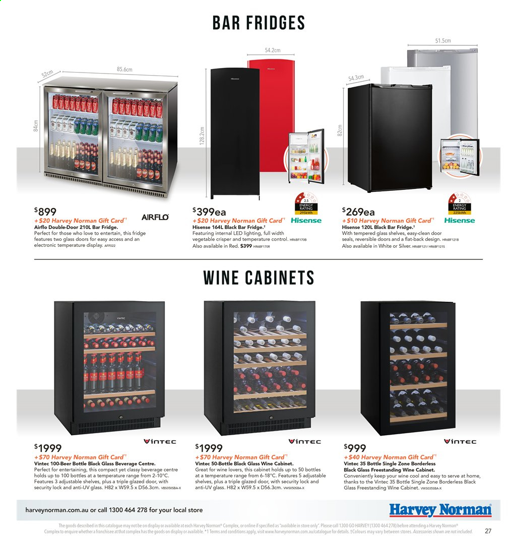 Harvey Norman catalogue  - 8.11.2019 - 25.11.2019. Page 27.