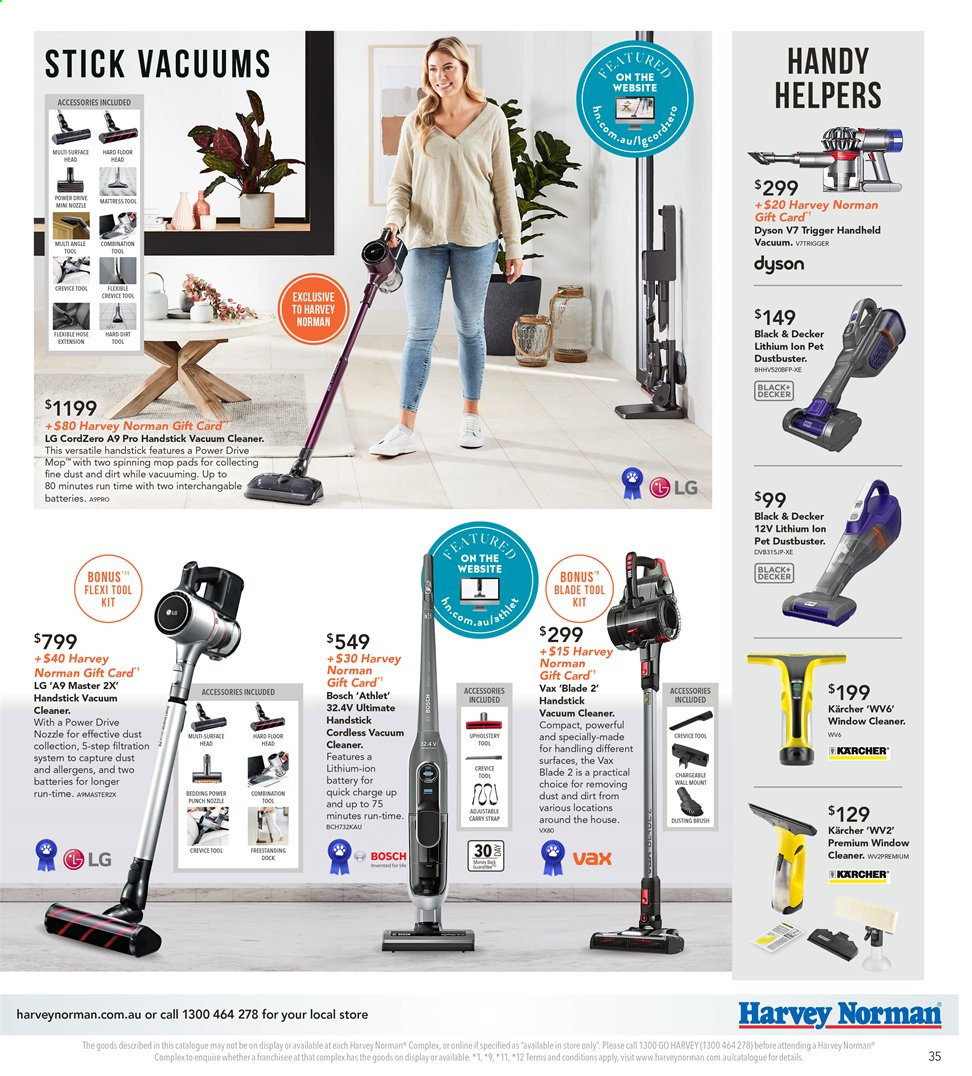 Harvey Norman catalogue  - 8.11.2019 - 25.11.2019. Page 35.