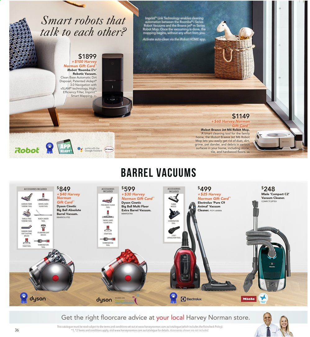 Harvey Norman catalogue  - 8.11.2019 - 25.11.2019. Page 36.