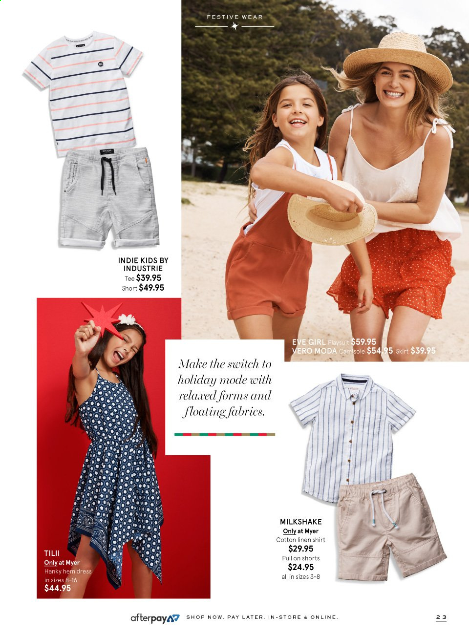 Myer catalogue  - 9.11.2019 - 24.12.2019. Page 23.