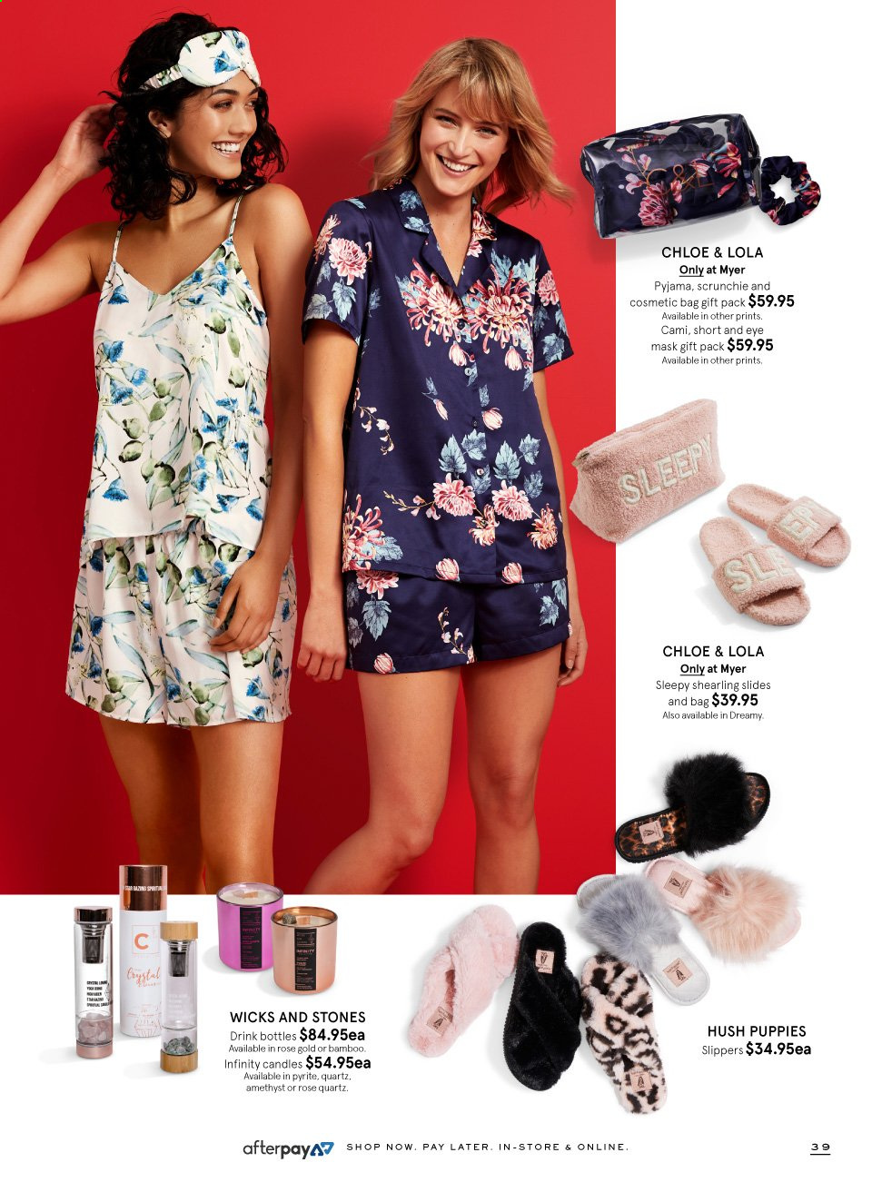 Myer catalogue  - 9.11.2019 - 24.12.2019. Page 39.