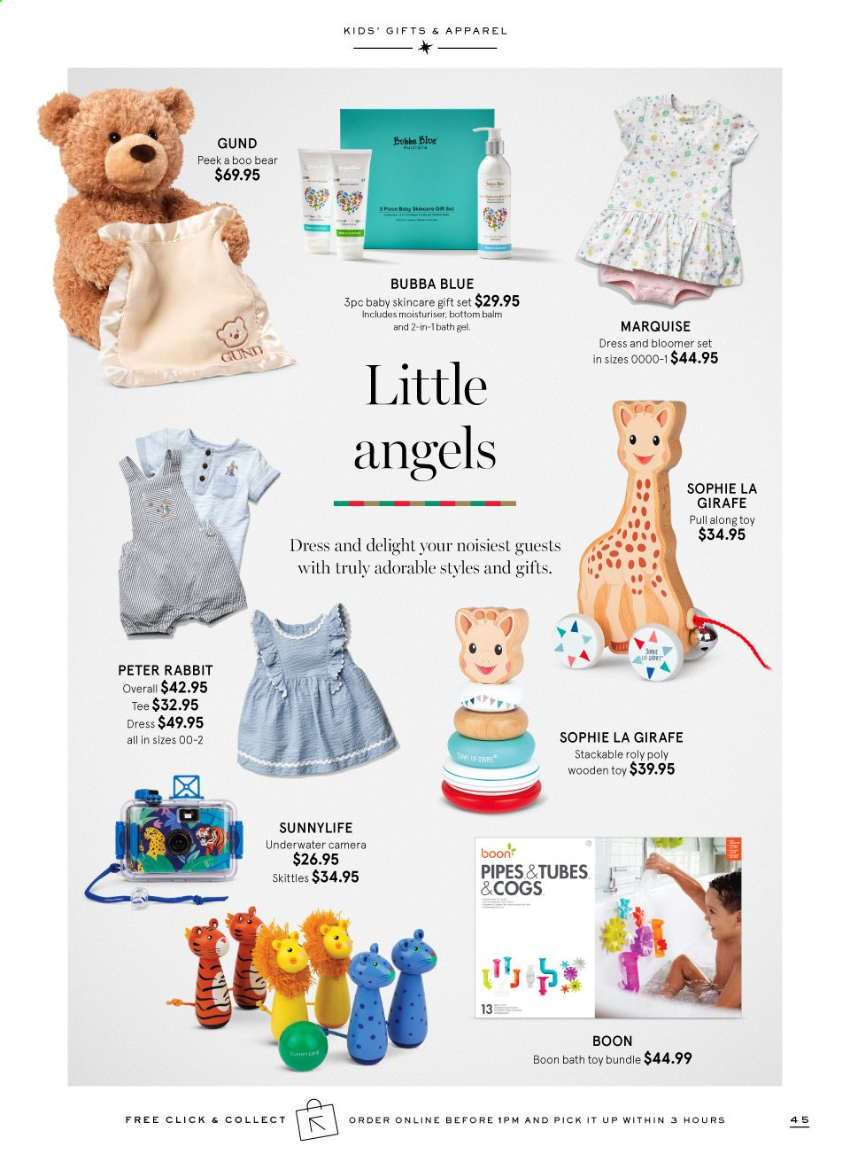 Myer catalogue  - 9.11.2019 - 24.12.2019. Page 45.
