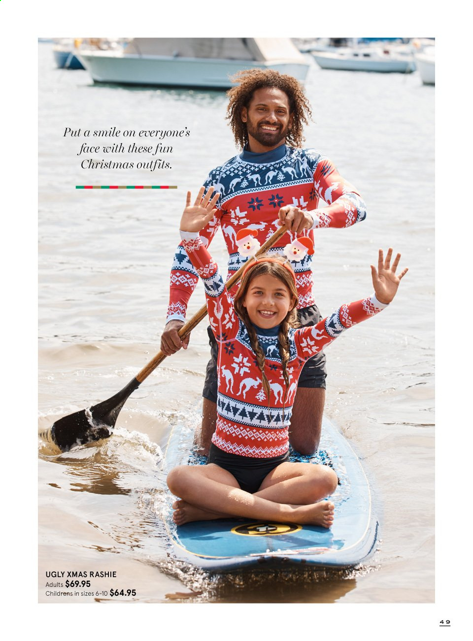 Myer catalogue  - 9.11.2019 - 24.12.2019. Page 49.