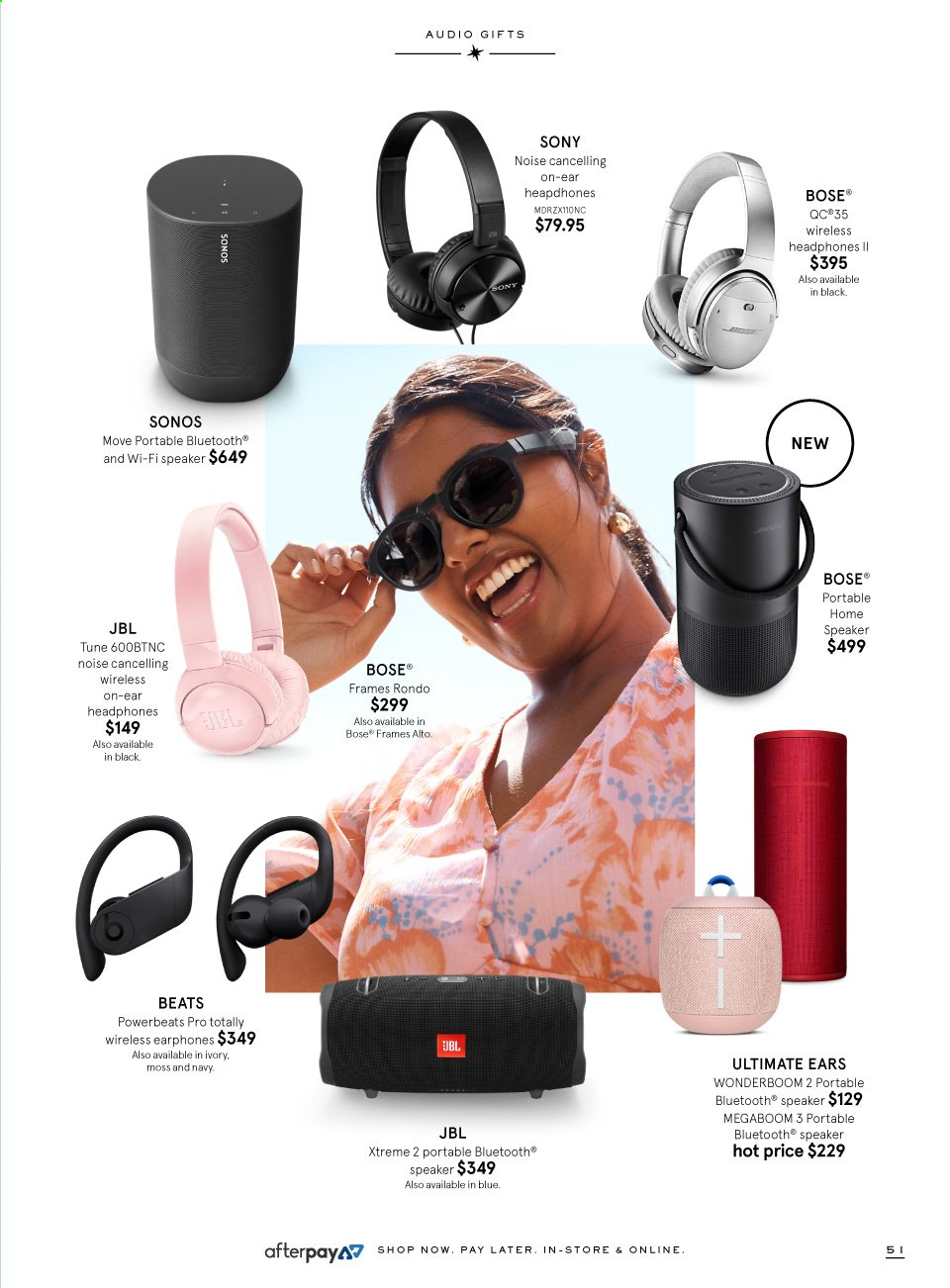 Myer catalogue  - 9.11.2019 - 24.12.2019. Page 51.