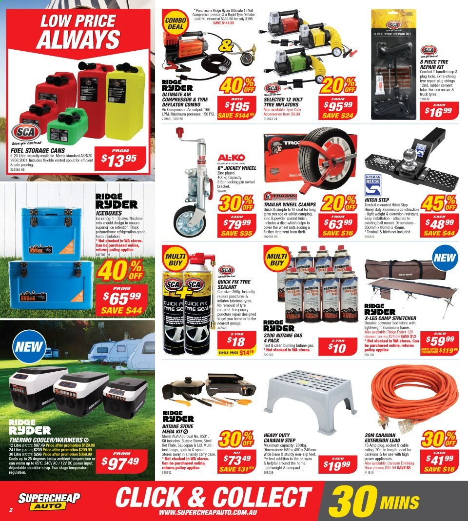 Supercheap Auto catalogue  - 13.11.2019 - 24.11.2019. Page 2.