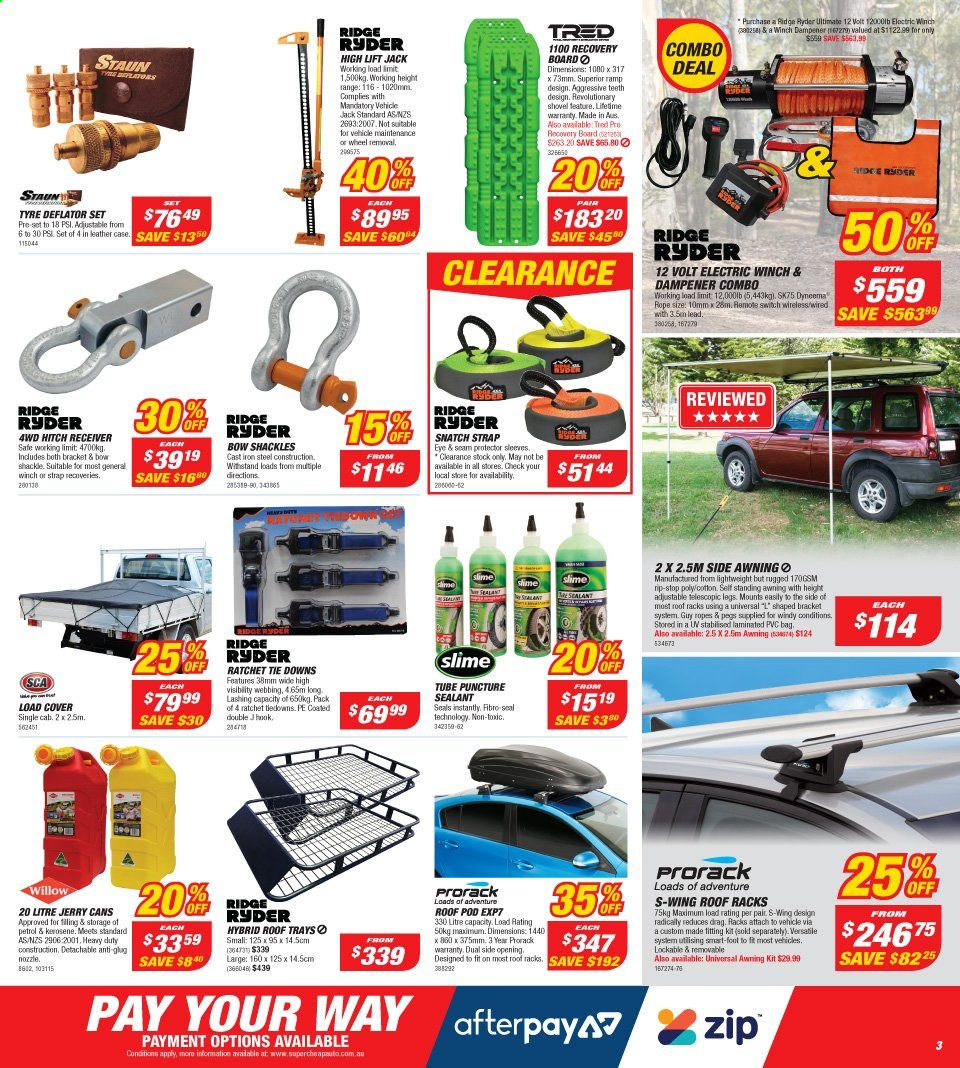 Supercheap Auto catalogue  - 13.11.2019 - 24.11.2019. Page 3.