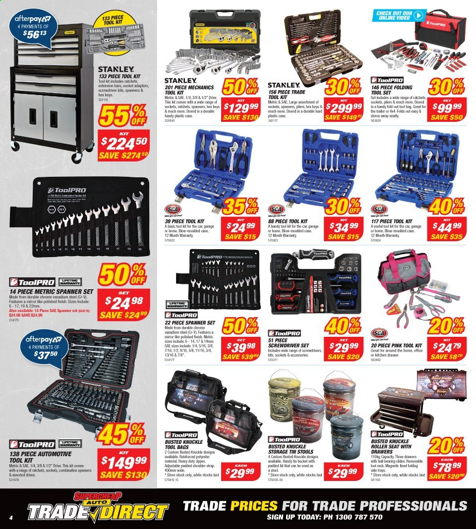 Supercheap Auto catalogue  - 13.11.2019 - 24.11.2019. Page 4.