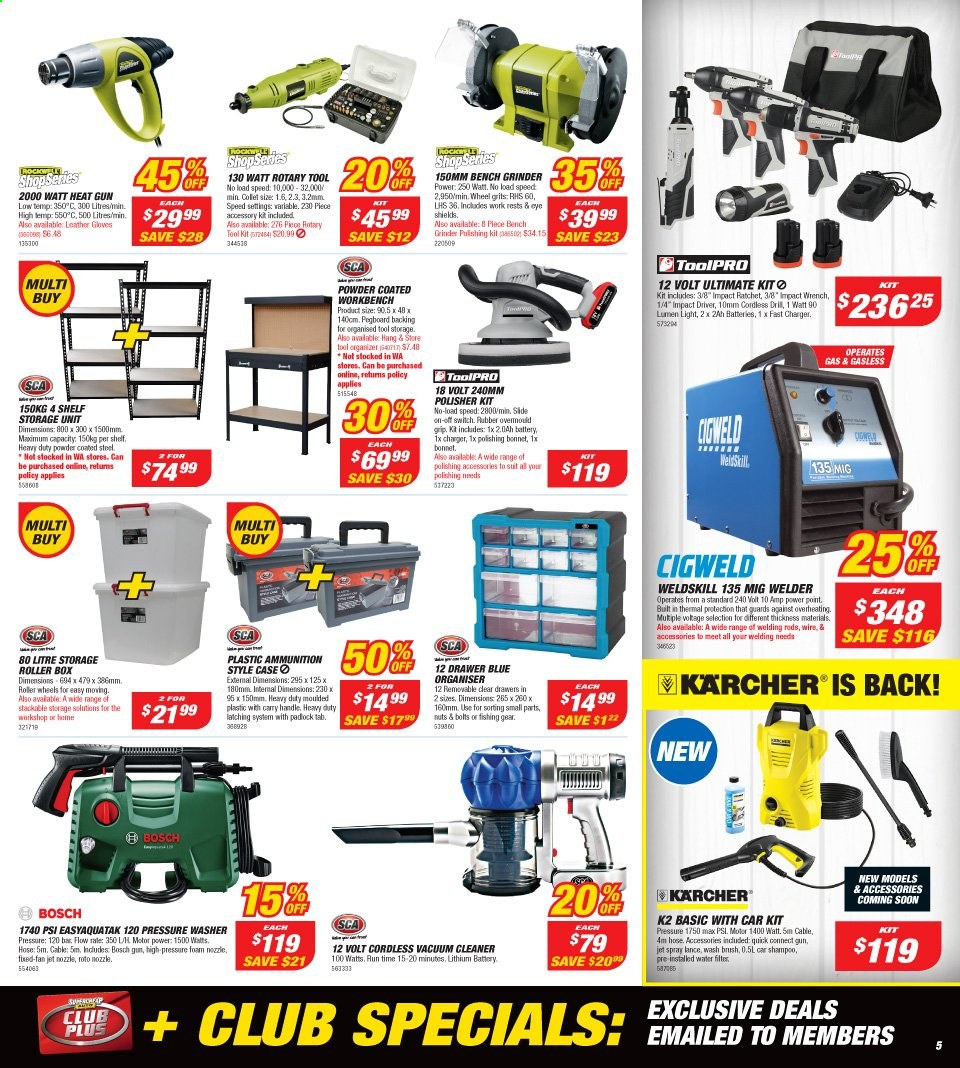 Supercheap Auto catalogue  - 13.11.2019 - 24.11.2019. Page 5.