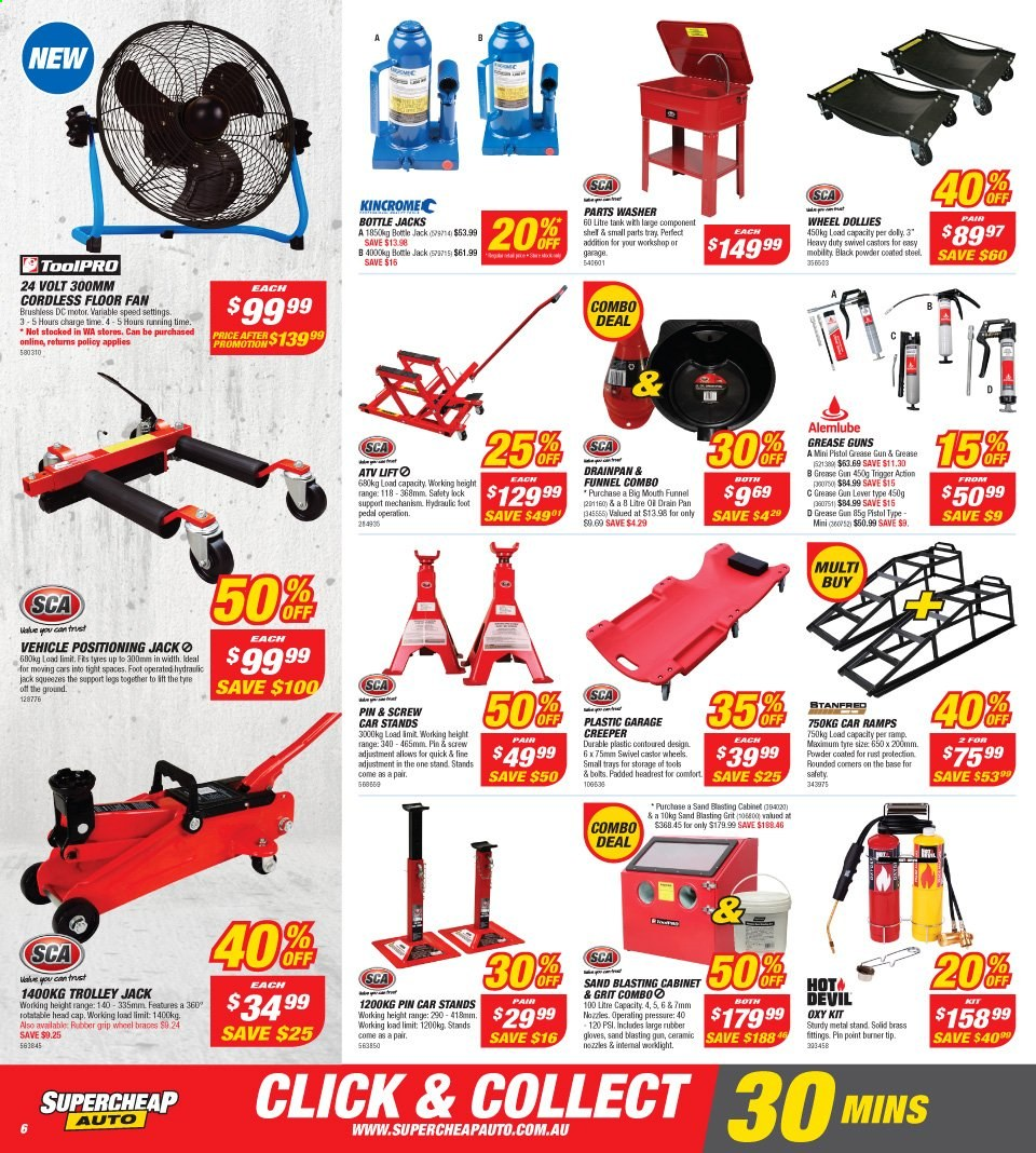 Supercheap Auto catalogue  - 13.11.2019 - 24.11.2019. Page 6.