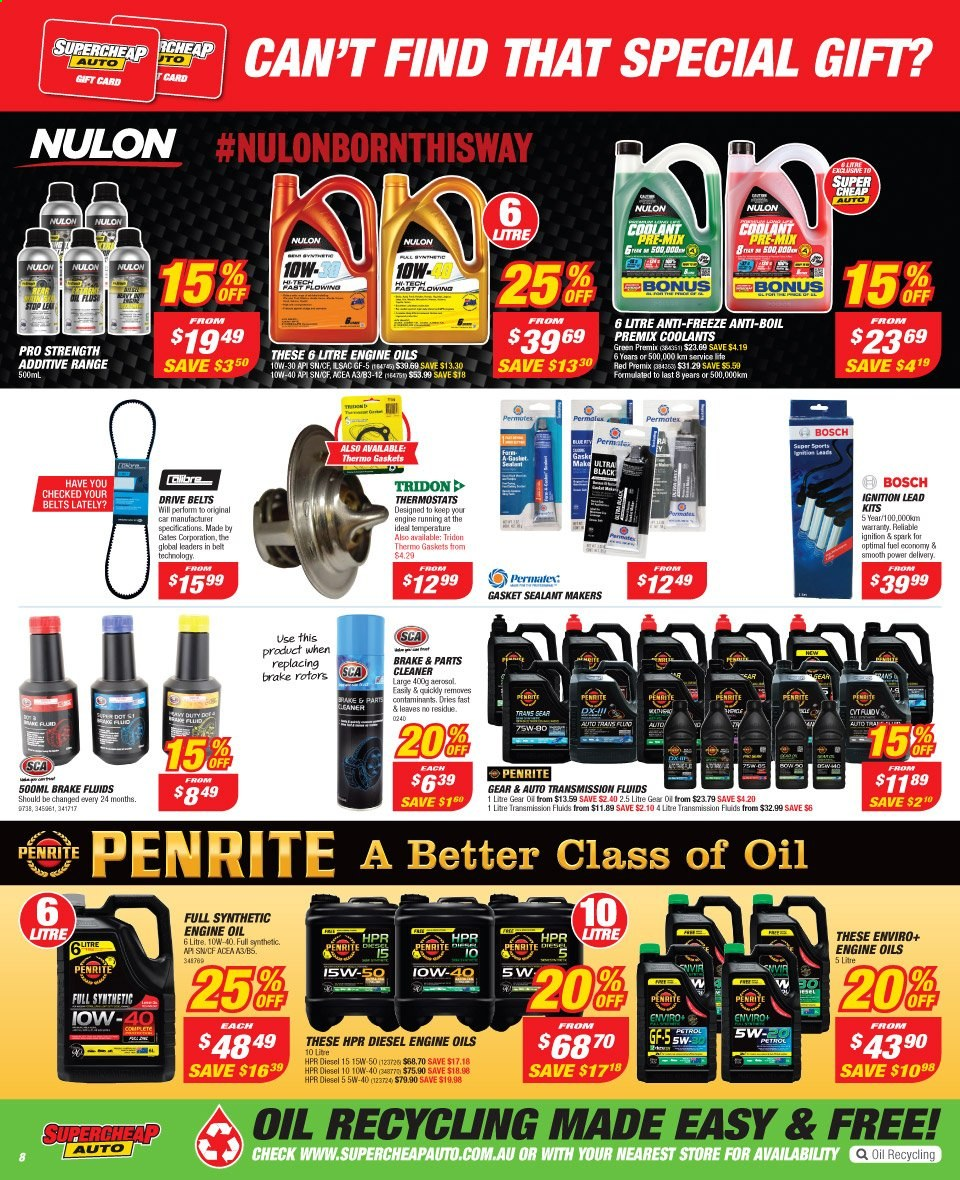 Supercheap Auto catalogue  - 13.11.2019 - 24.11.2019. Page 8.