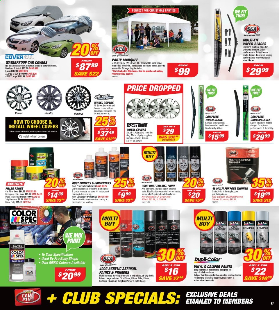 Supercheap Auto catalogue  - 13.11.2019 - 24.11.2019. Page 11.