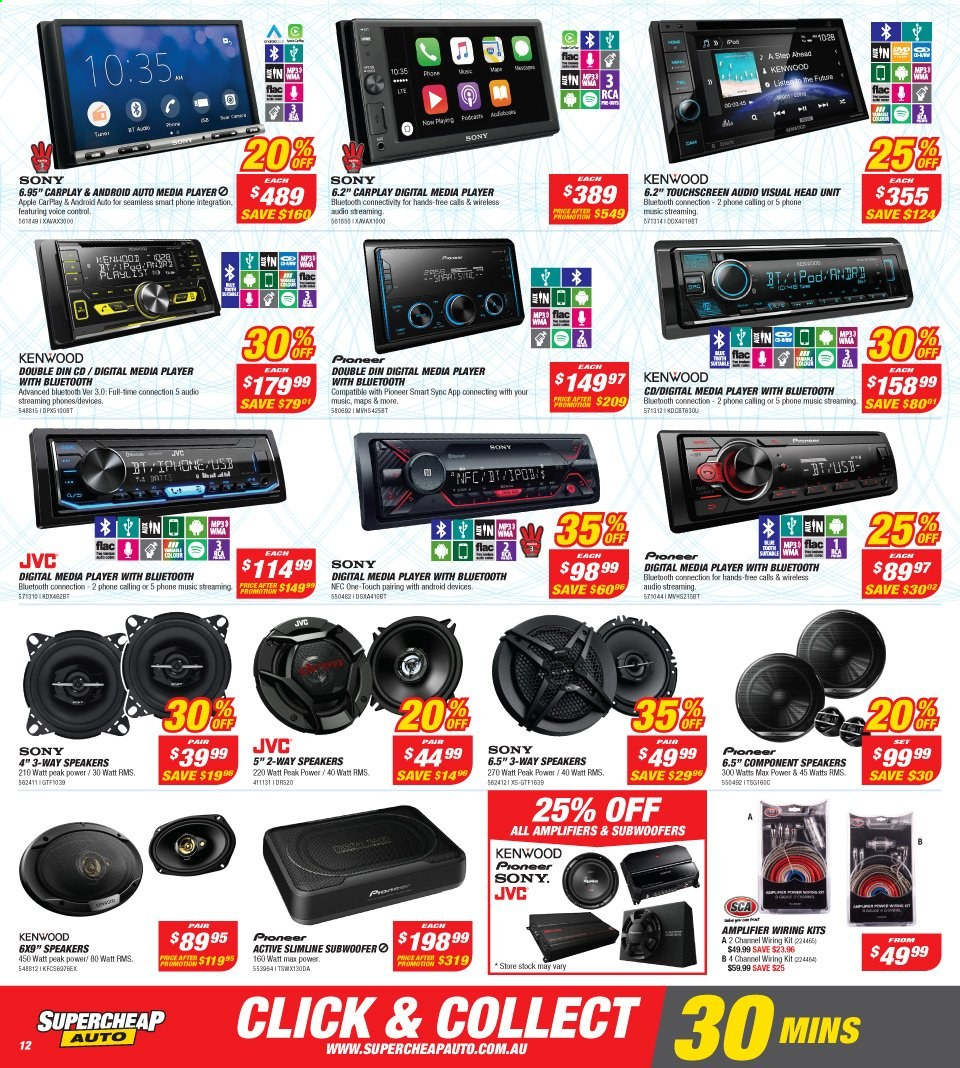 Supercheap Auto catalogue  - 13.11.2019 - 24.11.2019. Page 12.