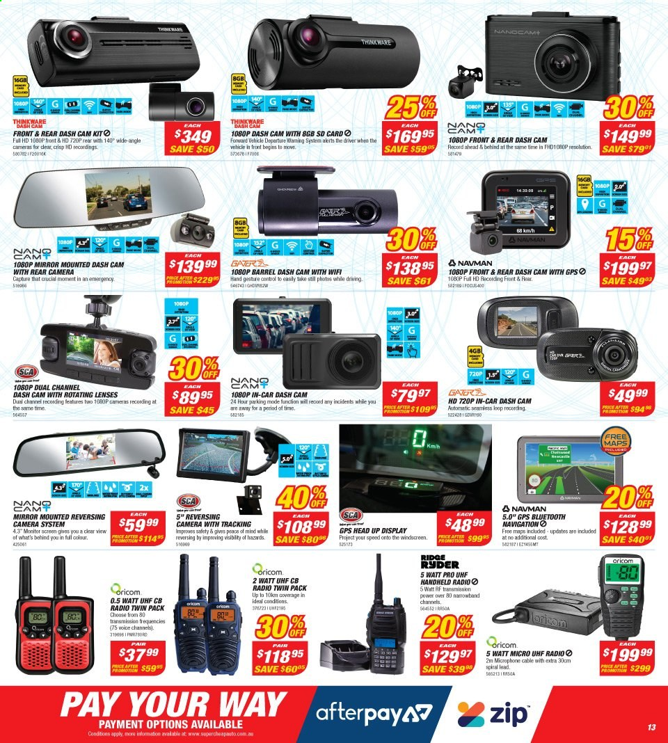 Supercheap Auto catalogue  - 13.11.2019 - 24.11.2019. Page 13.