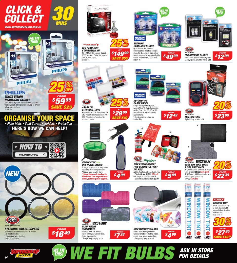Supercheap Auto catalogue  - 13.11.2019 - 24.11.2019. Page 14.