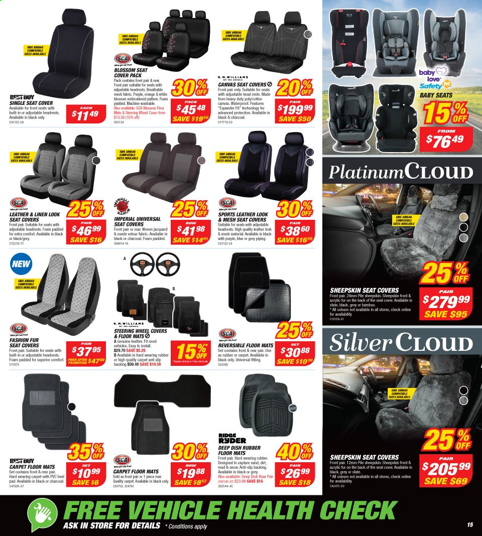 Supercheap Auto catalogue  - 13.11.2019 - 24.11.2019. Page 15.