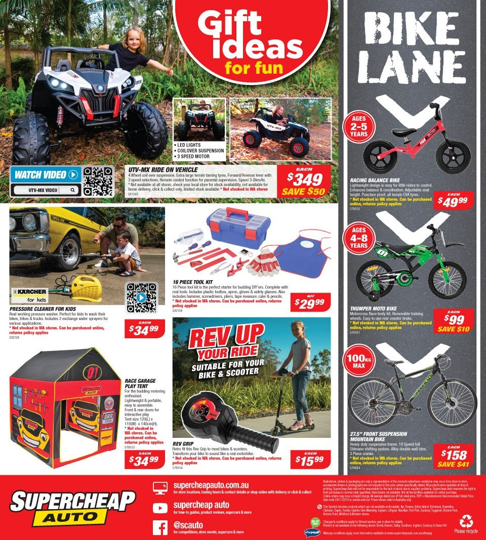 Supercheap Auto catalogue  - 13.11.2019 - 24.11.2019. Page 16.