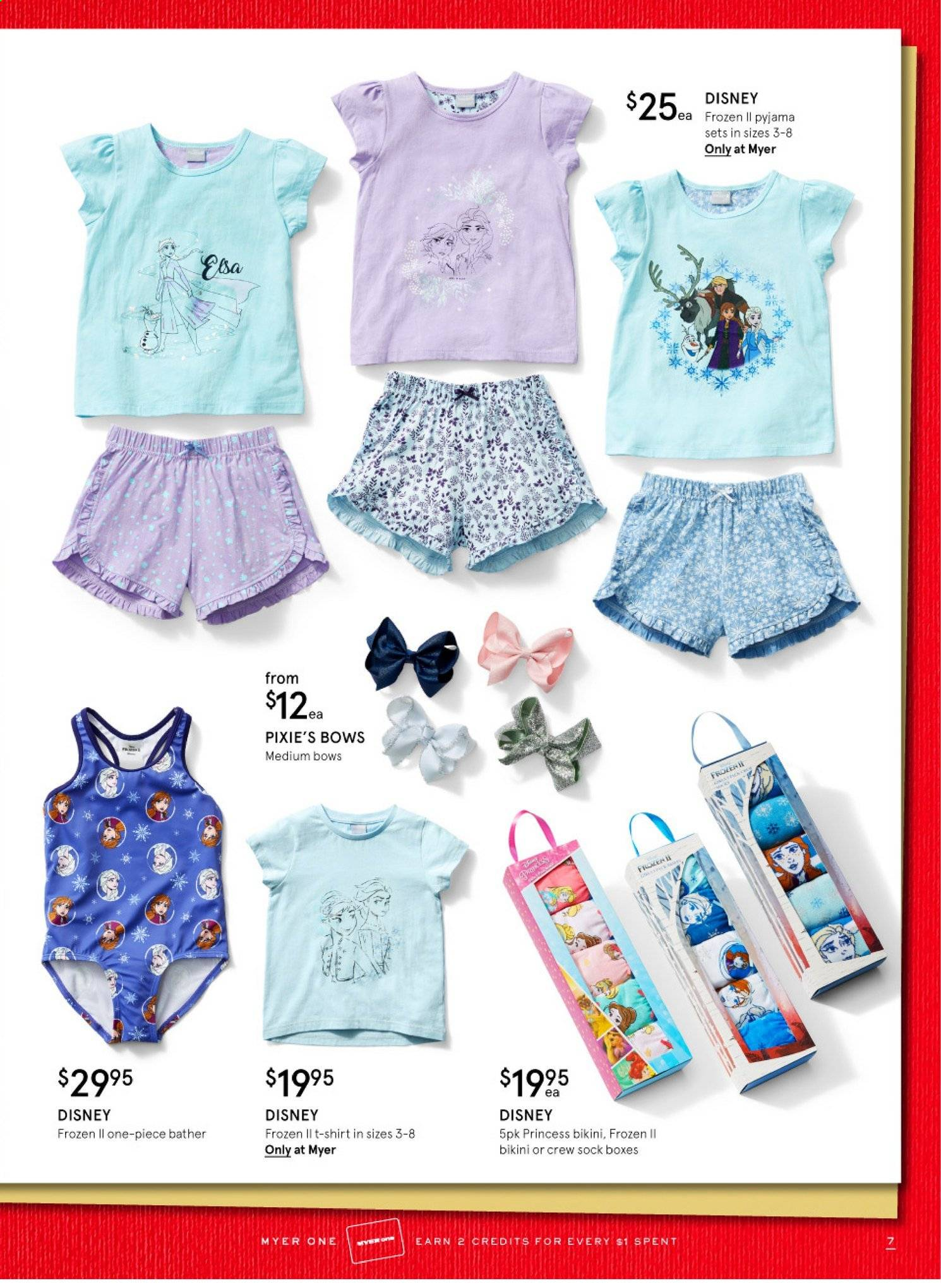 Myer catalogue  - 12.11.2019 - 24.12.2019. Page 7.